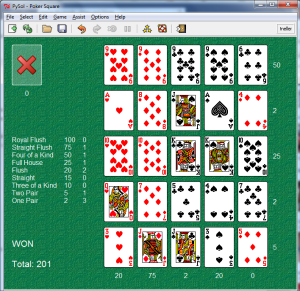 Gambling game variation of baccarat dan word