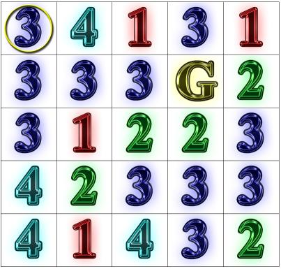 Rook Jumping Maze / Number Maze